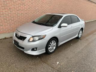Used 2010 Toyota Corolla S, CERTIFIED for sale in Ajax, ON