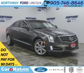 Used 2014 Cadillac ATS Performance PKG | 3.6 V6 | HTD LEATHER | SUNROOF | for sale in Brantford, ON