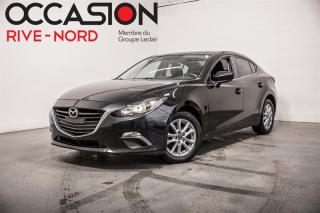 Used 2016 Mazda MAZDA3 GS MAGS+CAM.RECUL+SIEGES.CHAUFFANTS for sale in Boisbriand, QC