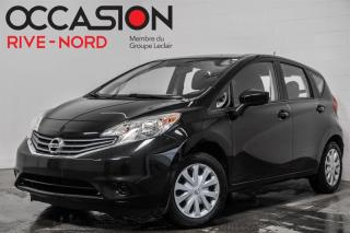 Used 2015 Nissan Versa Note SV BLUETOOTH+A/C+CAM.RECUL for sale in Boisbriand, QC