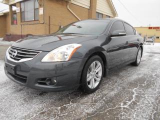 Used 2010 Nissan Altima 3.5 SR Automatic Loaded Sunroof Certified 147,000K for sale in Rexdale, ON