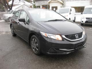 Used 2015 Honda Civic LX 1.8L 4cyl FWD Auto AC htd Seats Reverse Cam for sale in Ottawa, ON