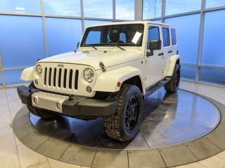 Used 2014 Jeep Wrangler Unlimited Sahara for sale in Edmonton, AB