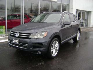 Used 2013 Volkswagen Touareg SPORTLINE V6 GAS for sale in Cornwall, ON