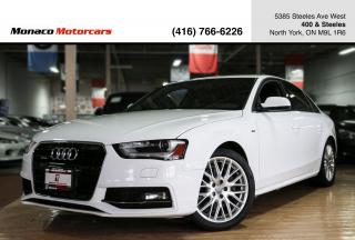 Used 2014 Audi A4 Progressiv - S-LINE|NAVI|BACKUP|BLINDSPOT|SUNROOF for sale in North York, ON