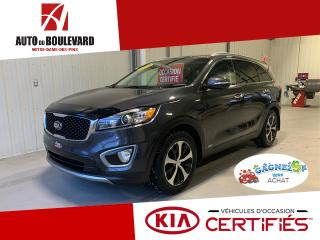Used 2016 Kia Sorento EX 3.3 V6 AWD CUIR GRIS PRET HIVER 1X SE for sale in Notre-Dame-des-Pins, QC