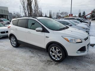 Used 2013 Ford Escape SEL; LEATHER, NAVI, SUNROOF, HEATED SEATS AND MORE for sale in Edmonton, AB