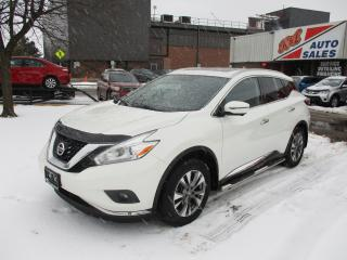 Used 2016 Nissan Murano SL ~ AWD ~ 360 CAMERAS ~ NAV. for sale in Toronto, ON