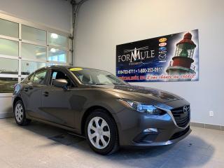 Used 2016 Mazda MAZDA3 GX for sale in Rimouski, QC