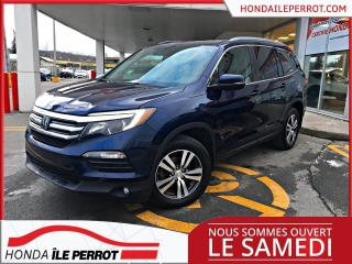 Used 2017 Honda Pilot EX-L WOW , RES  , CUIR , DVD  , BAS KM , A VOIR for sale in Île-Perrot, QC