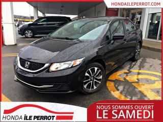 Used 2015 Honda Civic EX EX  WOW BAS  KILOMÉTRAGE for sale in Île-Perrot, QC