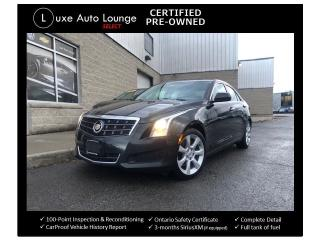 Used 2014 Cadillac ATS 2.0 TURBO, HEATED SEATS, SUNROOF, BOSE AUDIO!! for sale in Orleans, ON