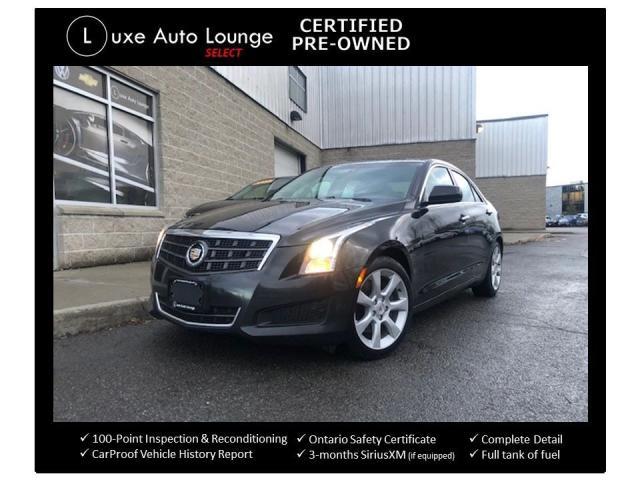 2014 Cadillac ATS 2.0 TURBO, HEATED SEATS, SUNROOF, BOSE AUDIO!!