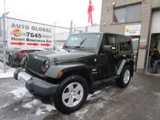 Used 2010 Jeep Wrangler 4 RM 2 portes Sahara for sale in Montréal, QC