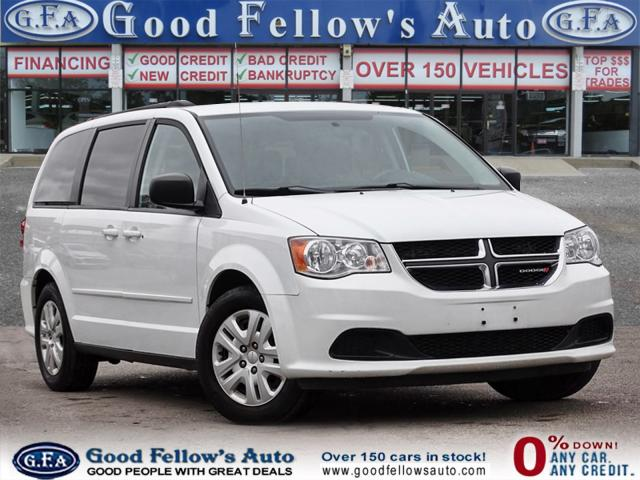 2017 Dodge Grand Caravan SXT MODEL, STOW & GO, 3.6L 6CYL, 7 PASSENGER