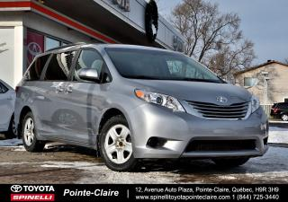 Used 2016 Toyota Sienna LE AWD AWD, BLUETOOTH, CAMÉRA DE RECUL for sale in Pointe-Claire, QC