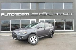 Used 2010 Mitsubishi Outlander AWD - V6 - 7 PASSAGERS- 8 ROUES - 8 PNEUS-GARANTIE for sale in Québec, QC