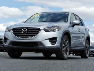 Used 2016 Mazda CX-5 GT AWD CUIR/TOIT OUV. 89$/sem taxes inc. for sale in St-Georges, QC