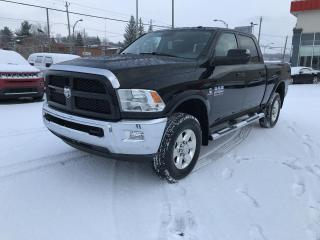 Used 2015 RAM 2500 CREW CAB 4X4 149 po Outdoorsm for sale in Sherbrooke, QC