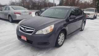 Used 2010 Subaru Legacy 2.5i ALL WHEEL DRIVE 1 OWNER CERTIFIED for sale in Stouffville, ON
