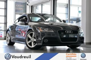 Used 2011 Audi TT Coupé *CUIR ROUGE *BLUETOOTH *S-LINE for sale in Vaudreuil-Dorion, QC