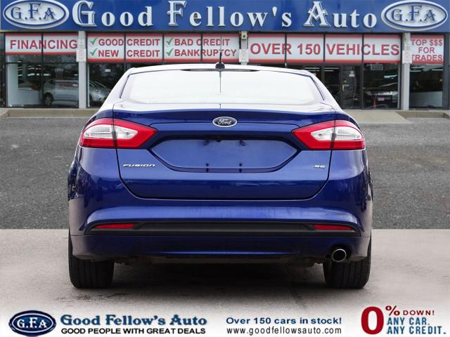 2016 Ford Fusion SE MODEL, 2.5L 4CYL, FWD, REARVIEW CAMERA