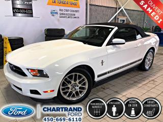 Used 2012 Ford Mustang Décapotable 2 portes V6 de première qual for sale in Laval, QC