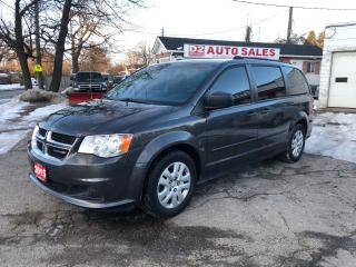 Used 2015 Dodge Grand Caravan CANADA VALUE PCKG/1 Owner/Accident Free/Certified for sale in Scarborough, ON