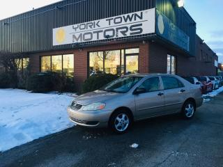 Used 2005 Toyota Corolla CE for sale in North York, ON