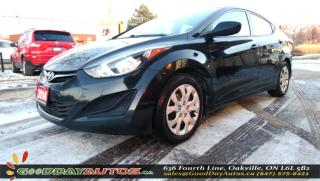 Used 2014 Hyundai Elantra GL|NO ACCIDENT|HEATED SEATS|BLUETOOTH|CERTIFIED for sale in Oakville, ON