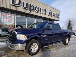 Used 2016 RAM 1500 Cabine multiplaces 4RM, 149 po Outdoorsm for sale in Alma, QC