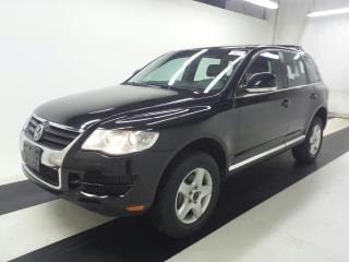 Used 2009 Volkswagen Touareg V6 Diesel TDI Leather Certified 2 yrs Warranty AWD for sale in Mississauga, ON