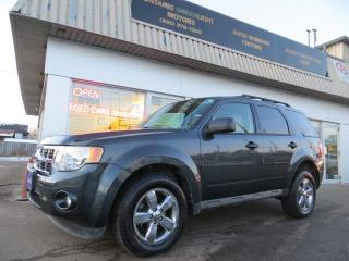 Used 2009 Ford Escape LOW KM,LEATHER,SUNROOF,FOGLIGHTS,BLUETOOTH for sale in Mississauga, ON