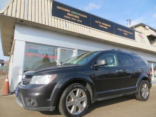 Used 2012 Dodge Journey R/T 4 WHEEL DRIVE,LEATHER,6CYL for sale in Mississauga, ON