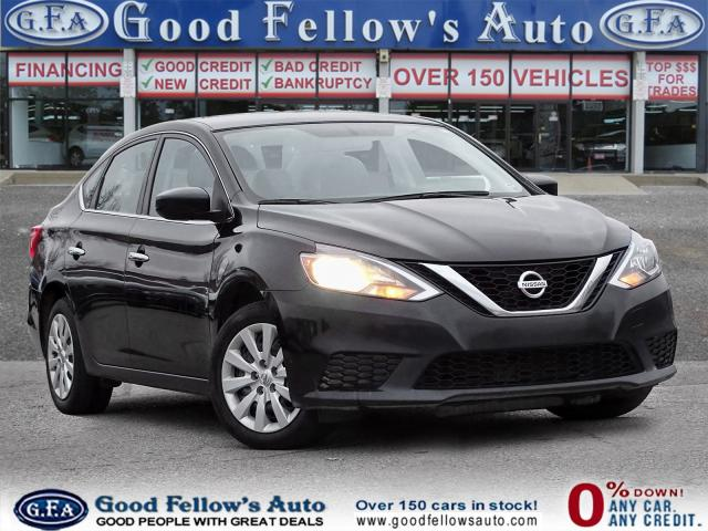 2017 Nissan Sentra SV MODEL, REARVIEW CAMERA, HEATED SEATS, 1.8LITTER