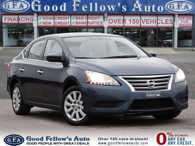 2015 Nissan Sentra S MODEL, FRONT HEAT, CRUISE CONTROL