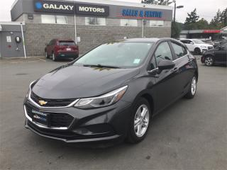 Used 2017 Chevrolet Cruze LT- Keyless Ignition Bluetooth Sunroof for sale in Victoria, BC