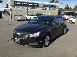 Used 2012 Chevrolet Cruze LT TURBO W/1SA  BLUETOOTH CD PLAYER for sale in Victoria, BC