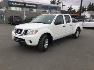 Used 2018 Nissan Frontier SV - Crew Cab 4.0L V6 Long Box - 4x4 for sale in Victoria, BC