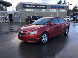 Used 2013 Chevrolet Cruze LT - Handsfree Calling AC *Free* Car washes! for sale in Victoria, BC