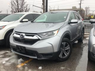 Used 2017 Honda CR-V LX, low mileage, Honda Certified for sale in Toronto, ON
