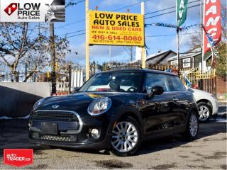 Used 2016 MINI Cooper Hardtop 3DRHB*PanoramicRoof*Leather*Automatic*Alloys*Clean for sale in Toronto, ON