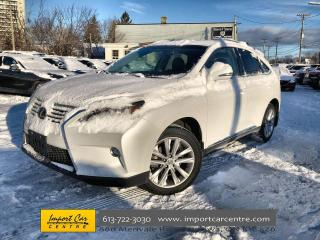 Used 2015 Lexus RX 350 Sportdesign LEATHER  ROOF  HEATED SEATS  ALLOYS  B for sale in Ottawa, ON