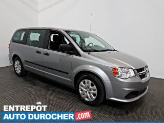 Used 2016 Dodge Grand Caravan Canada Value Automatique - A/C - 7 Passagers for sale in Laval, QC