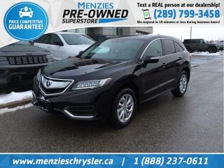 Used 2016 Acura RDX Tech Pkg AWD, Navi, One Owner, Accident Free for sale in Whitby, ON