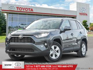 New 2020 Toyota RAV4 XLE FWD for sale in Whitby, ON