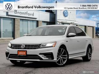 Used 2019 Volkswagen Passat Wolfsburg Edition 2.0T 6sp at w/Tip for sale in Brantford, ON