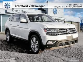 Used 2019 Volkswagen Atlas Execline 3.6L 8sp at w/Tip 4MOTION for sale in Brantford, ON