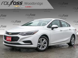 Used 2016 Chevrolet Cruze LT WITH BACKUP CAM, KEYLESS ENTRY for sale in Woodbridge, ON