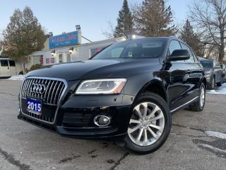 Used 2015 Audi Q5 quattro 4dr 2.0T Progressiv |NAVI|ACCIDENT FREE|ONE OWNER| for sale in Brampton, ON